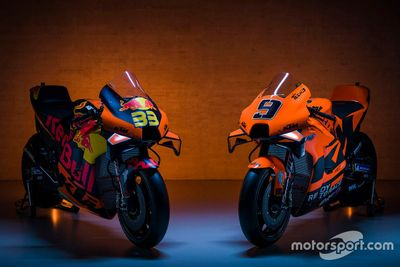 Line-up Red Bull KTM Factory Racing 2021