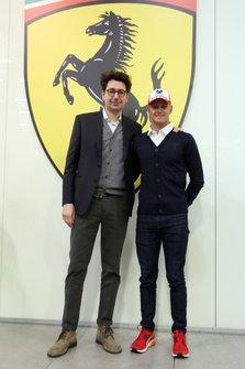 Mattia Binotto, Mick Schumacher, Ferrari Driver Academy