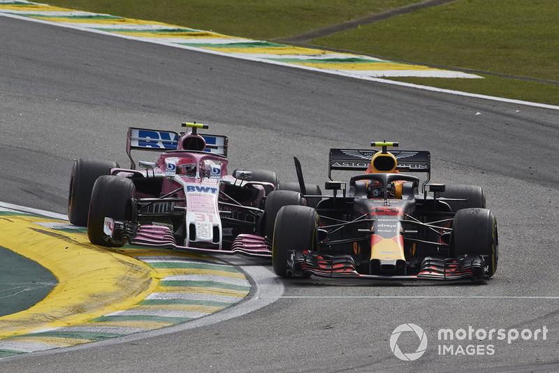 Brasil - Max Verstappen/Esteban Ocon (carrera)