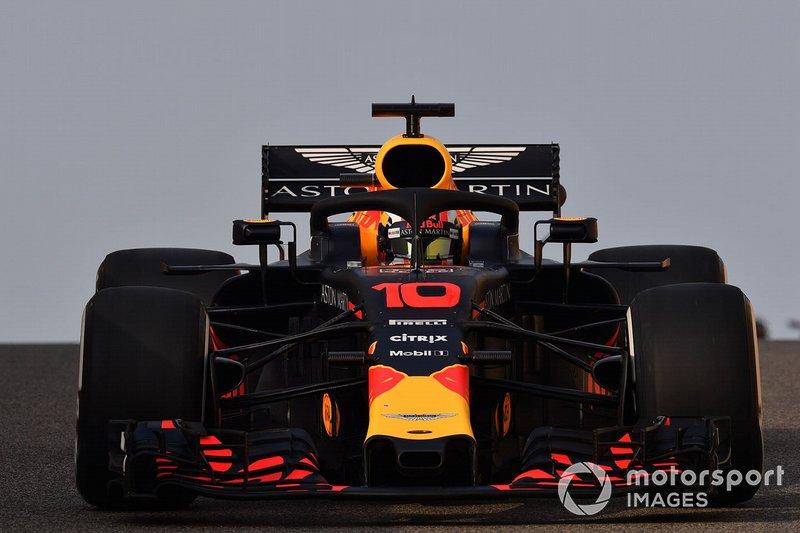 П'єр Гаслі, Red Bull Racing RB14