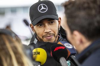 Lewis Hamilton, Mercedes AMG F1 talks with the media Lewis Hamilton, Mercedes AMG F1