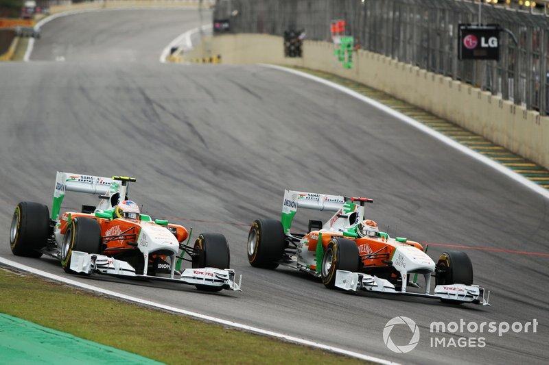 2011: Force India-Mercedes VJM04