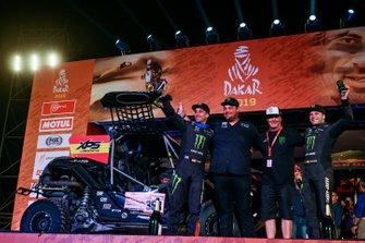 Podium: Monster Energy Can-Am: Gerard Farres Guell, Daniel Oliveras Carreras