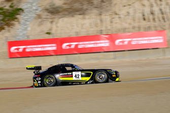 #42 Strakka Racing Mercedes-AMG GT3: Nick Leventis, Felipe Fraga, Davide Fumanelli