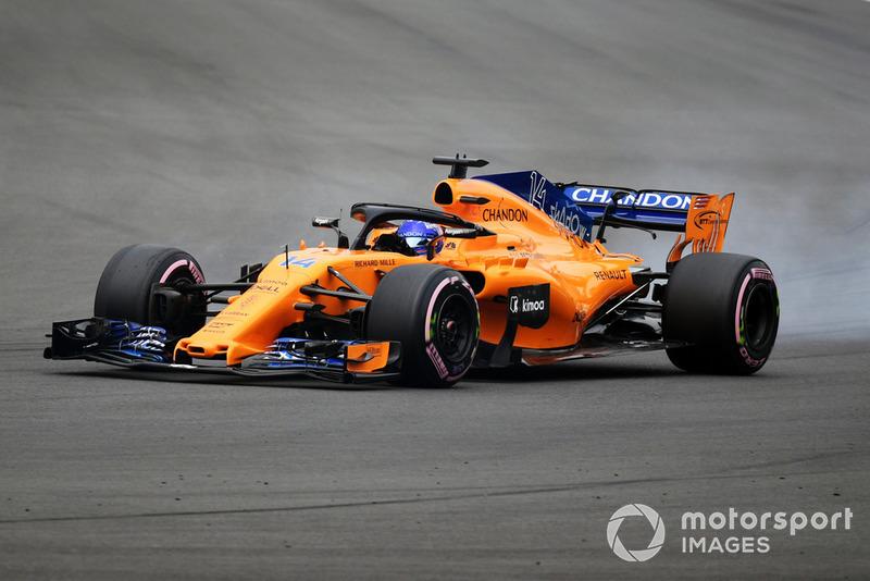 12: Фернандо Алонсо, McLaren MCL33, 1'16.871