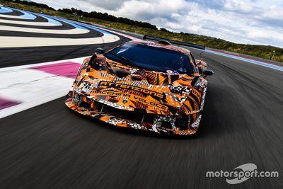 Test del Lamborghini SCV12