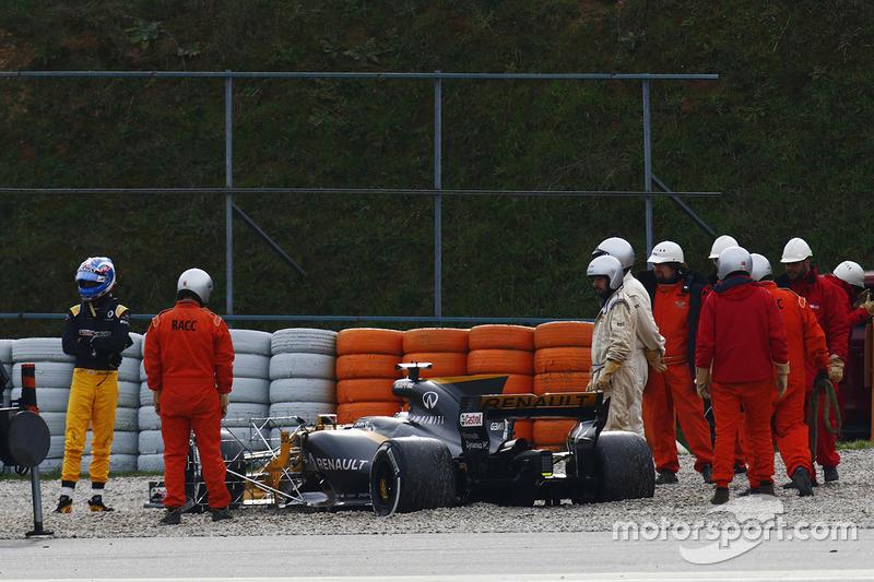 Виліт Джоліона Палмера, Renault Sport F1 Team Sport