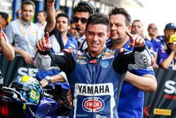 Le vainqueur Federico Caricasulo, GRT Yamaha Official WorldSSP Team