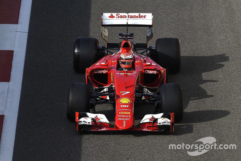 Kimi Raikkonen, Ferrari testing the new 2017 Pirelli tyres
