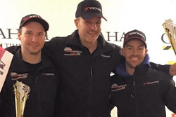 Denis Wolf, Philipp Krebs, Ralf Henggeler, podium