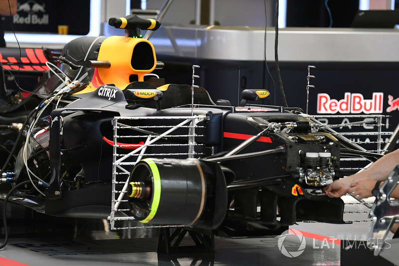 Red Bull RB13: Sensoren