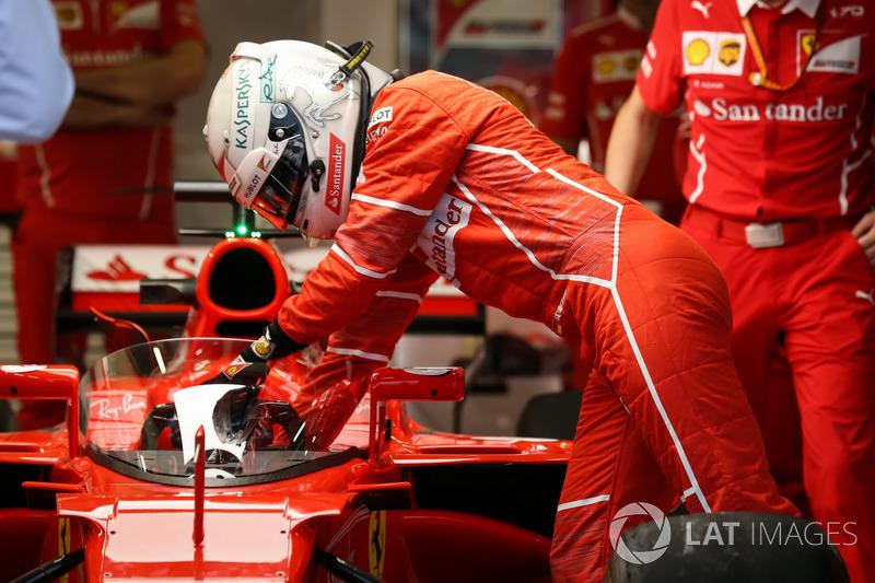 Себастьян Феттель, Ferrari SF70H, і