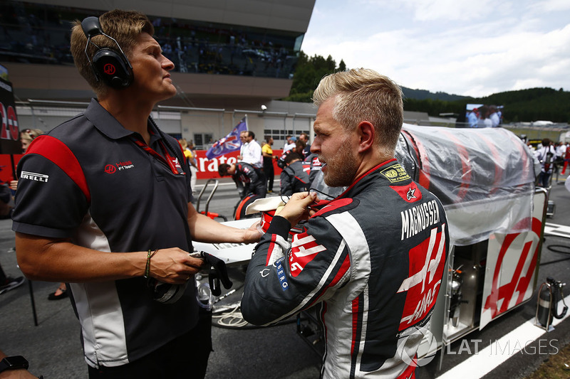 Kevin Magnussen, Haas F1 Team Team