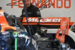 McLaren MCL32 rear wing