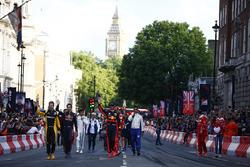 Formel-1-Fahrer in London
