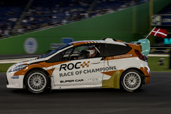 Tom Kristensen, driving the RX Supercar Lite