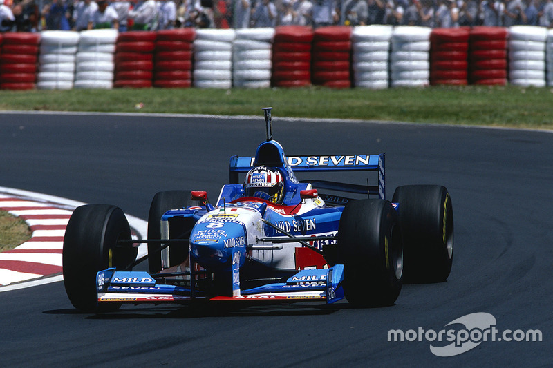 #8: Alexander Wurz, Benetton, B197
