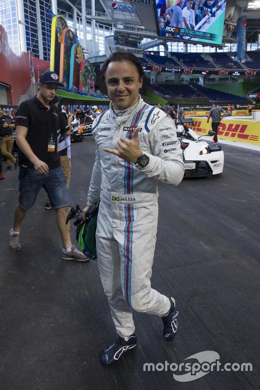 Felipe Massa, en pits