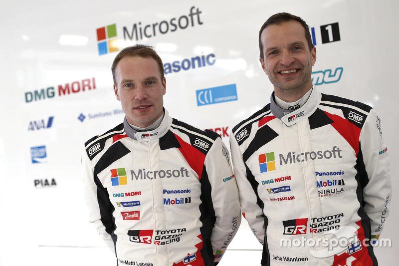 jari-matti latvala, Juho Hanninen, Toyota GAZOO Racing