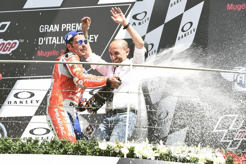 Подіум: третє місце Даніло Петруччі, Pramac Racing