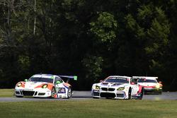 #54 CORE autosport Porsche 911 GT3R: Jon Bennett, Colin Braun, #25 BMW Team RLL BMW M6 GTLM: Bill Auberlen, Alexander Sims