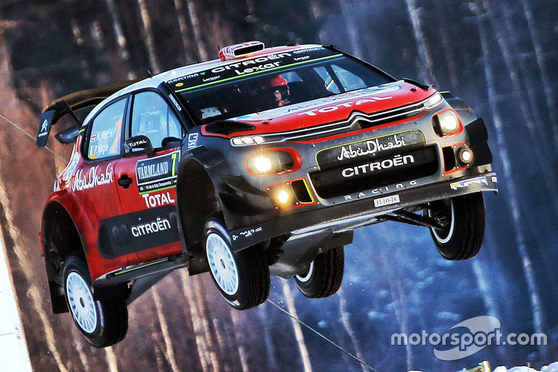 Крис Мик, Пол Нагл, Citroën C3 WRC