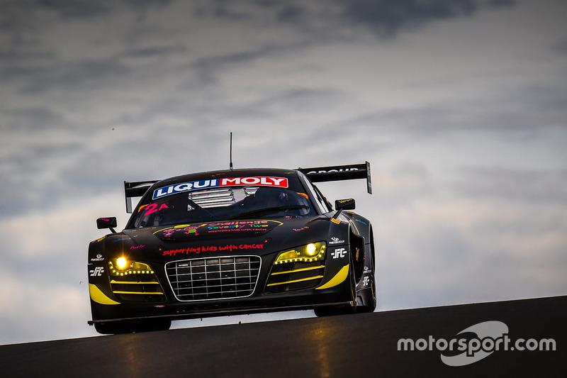 #2 DJS Racing, Audi LMS R8: Daniel Stuttard, James Bergmuller, Samuel Fillmore