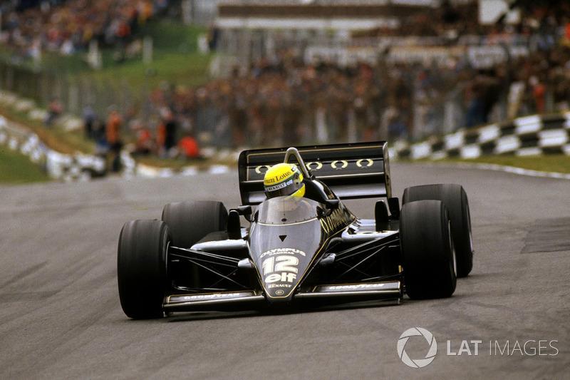 #20: Ayrton Senna, Lotus 97T, Brands Hatch 1985: 1:07,169