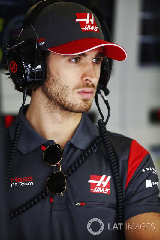 Антоніо Джовінацці, тестовий пілот Haas F1 Team