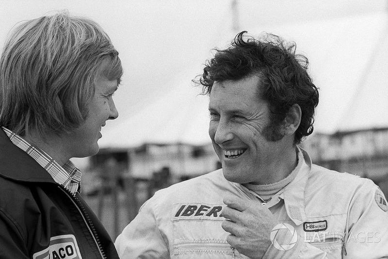 Graham McRae: única participação na F1, no GP da Grã-Bretanha de 1973, em Silverstone.