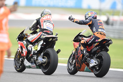 3. Cal Crutchlow, Team LCR Honda; Bradley Smith, Red Bull KTM Factory Racing