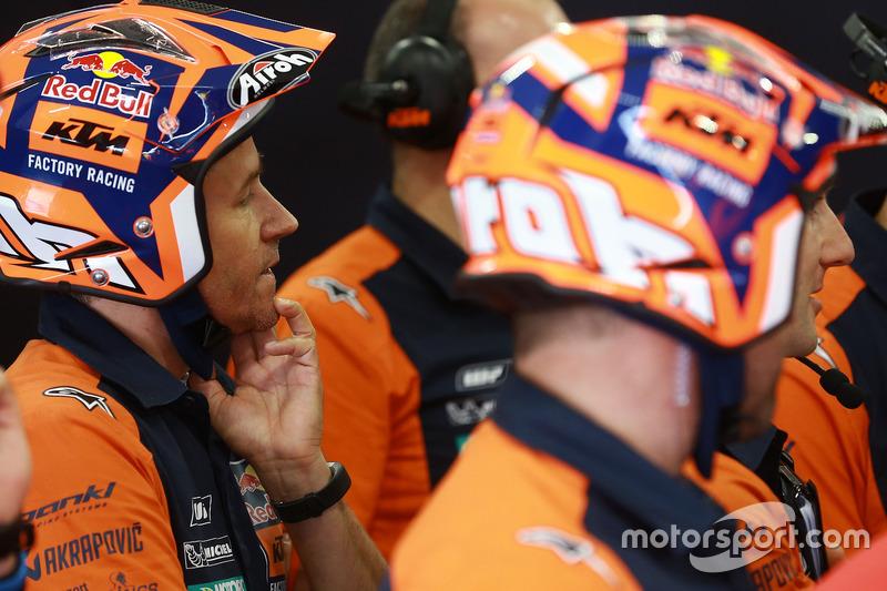 Red Bull KTM Factory Racing crew