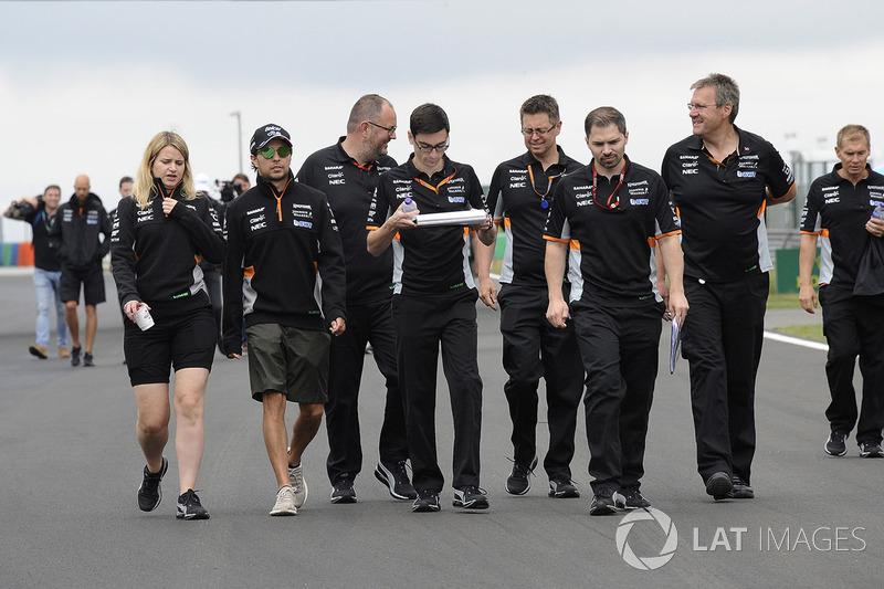 Серхіо Перес, Force India, з команою