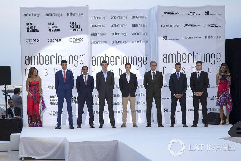 Эстебан Окон, Force India F1, Макр Жене, Ferrari, Даниил Квят, Scuderia Toro Rosso, Стоффель Вандорн, McLaren, Маркус Эрикссон, Sauber, Паскаль Верляйн, Sauber, Шарль Леклер, Prema Racing