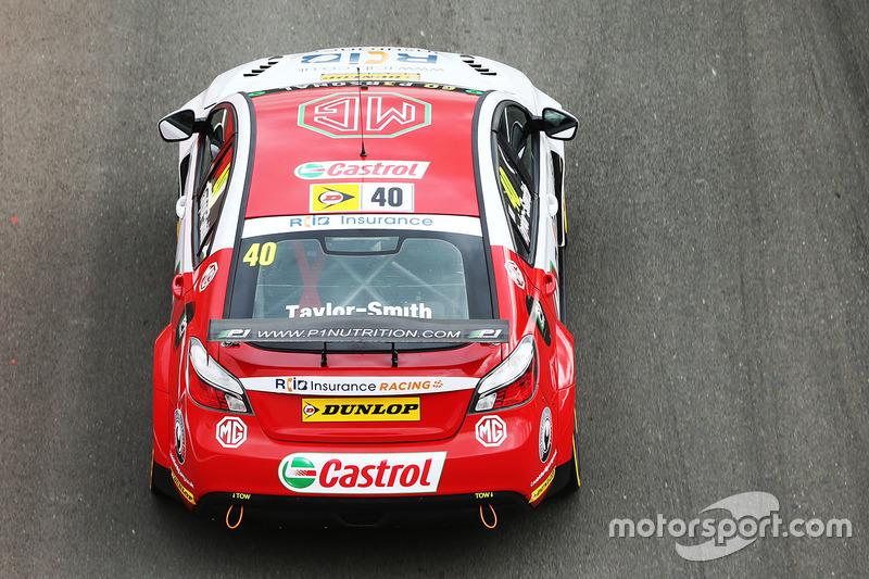 Aron Taylor-Smith, MG Racing RCIB Insurance MG6GT
