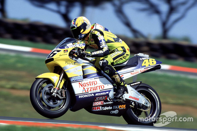 Valentino Rossi Honda At 500cc South African Gp