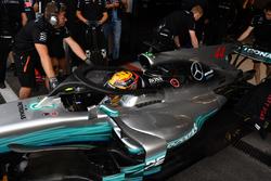 Lewis Hamilton, Mercedes-Benz F1 W08 haloyla