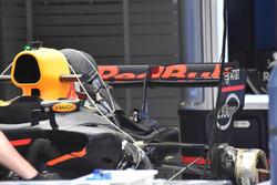 L'arrière de la voiture de Daniel Ricciardo, Red Bull Racing RB13
