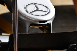 Le nez de la Mercedes-Benz F1 W08