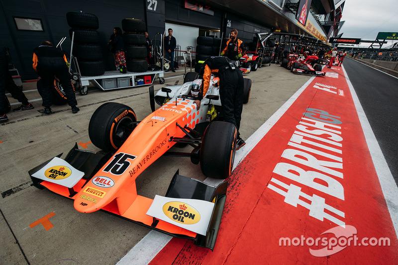 Jordan King, MP Motorsport.