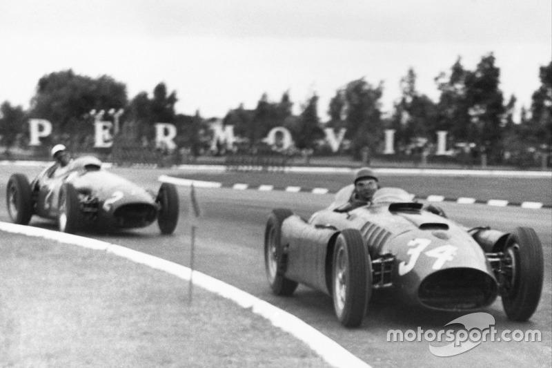 Luigi Musso/Juan Manuel Fangio, Lancia-Ferrari D50