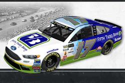 Throwback-Design: Ricky Stenhouse Jr., Roush Fenway Racing Ford