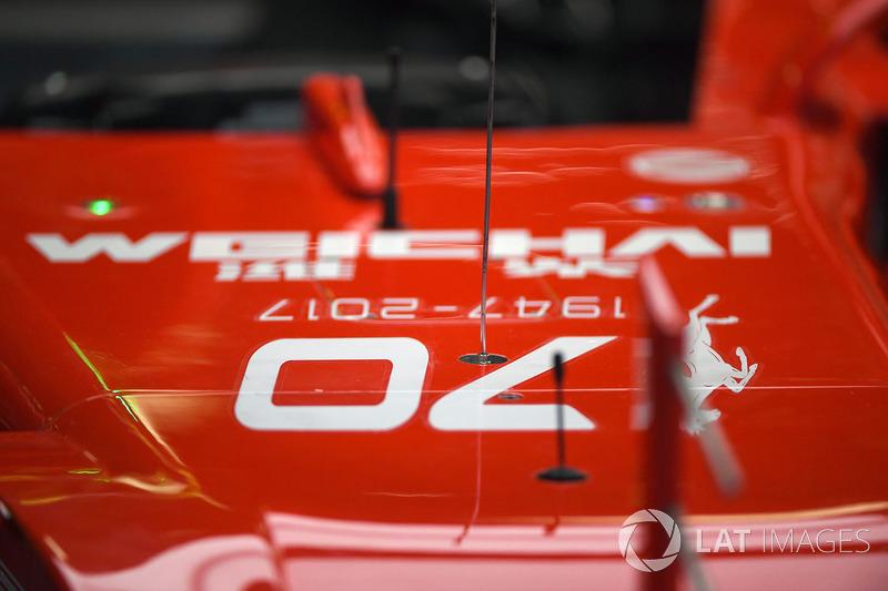 Ferrari SF70H, нос