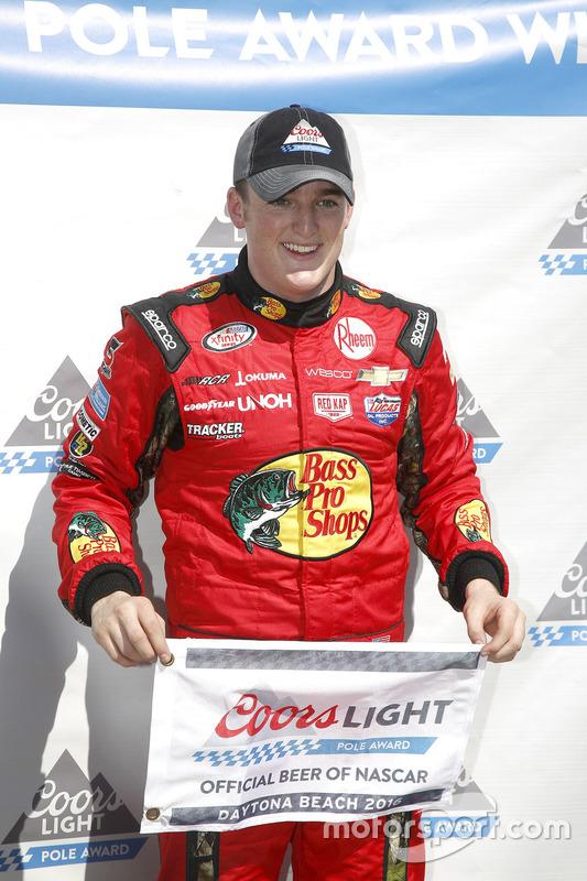 Polesitter Ty Dillon, Richard Childress Racing Chevrolet