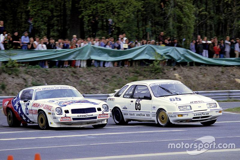 Peter John, Chevrolet Camaro y Klaus Niedzwiedz, Ford Sierra