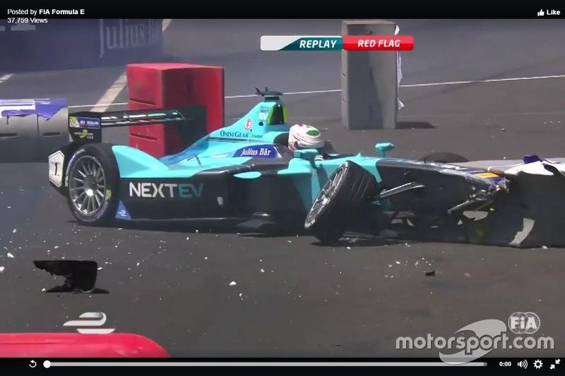 Crash Nelson Piquet Jr., China Racing