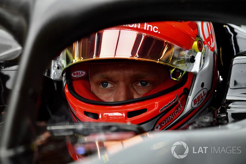 Kevin Magnussen acompanhou seu companheiro de Haas e ficou em quinto