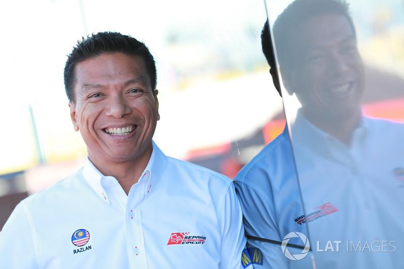 Razlan Razali, organisateur du Grand Prix de Malaisie