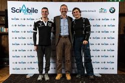 Emiliano Malagoli,Il presidente e AD di BMW Italia, Sergio Solero e Alex Zanardi