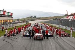 Ferrari-groepsfoto